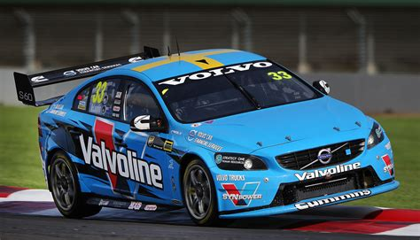 volvo  sales boosted   supercars entry