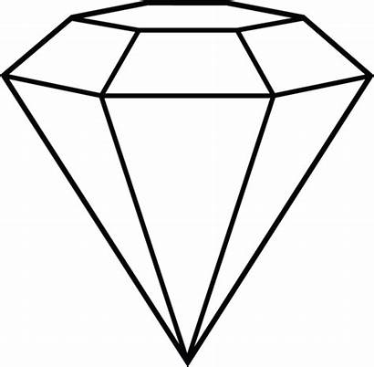 Diamond Clip Shape Line Clipartpanda Printable Clipart