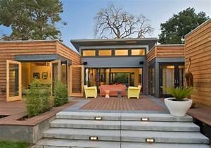 les maisons contemporaines fonctionnalite maximale et With entree exterieur maison moderne 6 maison moderne avec une magnifique piscine interieure