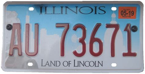 Vanity Plates In Illinois by Vehicle Registration Plates Of Illinois