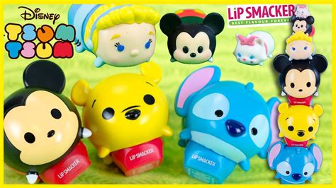 Lip Smacker Tsum Tsum Lilo Stitch disney tsum tsum stackable lip balm mickey cinderella