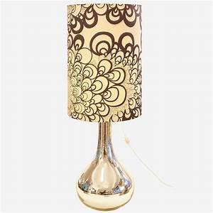 Lampe Mit Glasfuß : stehleuchte mit glasfuss in silberfarbe m bel z rich vintagem bel ~ Indierocktalk.com Haus und Dekorationen