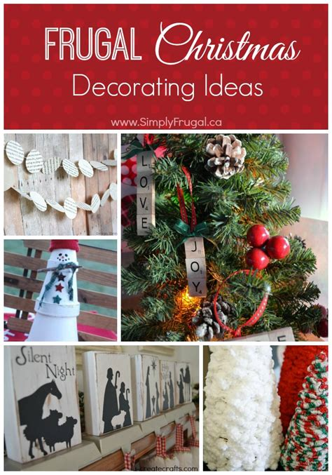 frugal christmas decorating ideas decorating archives simply frugal