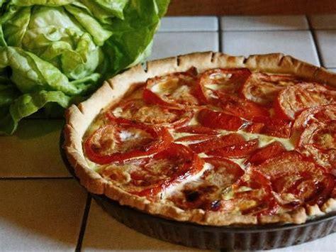 tarte thon tomate et moutarde recette quiche photos et cuisine