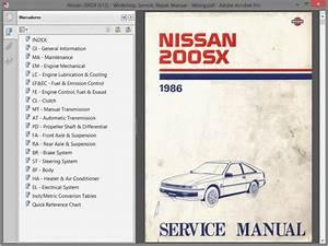 Nissan 200sx  S12  Service Manual
