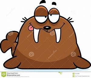 Funny Walrus Cartoon