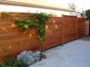 Panneau De Cloture En Bois : lames de de cloture 120x20mm meleze de ~ Premium-room.com Idées de Décoration