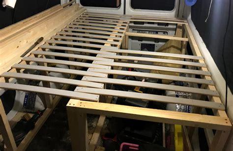 Wohnwagen Bett Selber Bauen by Wohnmobil Bett Selber Bauen Lifesetter