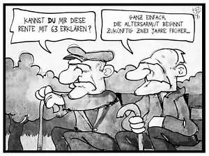 Rente Berechnen Mit 63 : rente mit 63 von kostas koufogiorgos politik cartoon toonpool ~ Themetempest.com Abrechnung