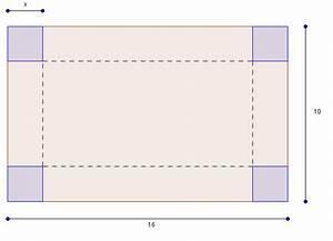 Quadratische Schachtel Falten : maximales volumen ermitteln f r eine nach oben offene schachtel mathelounge ~ Eleganceandgraceweddings.com Haus und Dekorationen