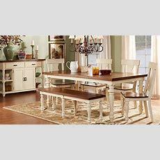 Hillside Cottage White 5 Pc Dining Room  Dining Room Sets