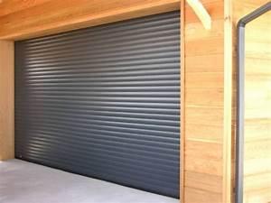 Tarif Porte De Garage Enroulable : porte de garage enroulable lames isolantes et motorisation somfy ~ Melissatoandfro.com Idées de Décoration