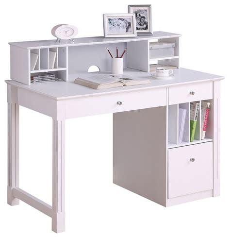 white computer desk hutch deluxe white wood computer desk with hutch white with