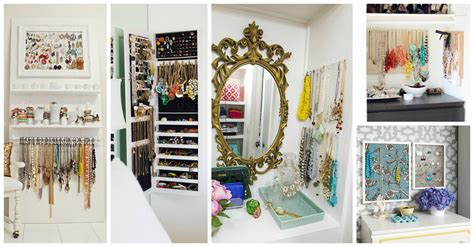 astonishing jewelry storage ideas  decorate  bedroom