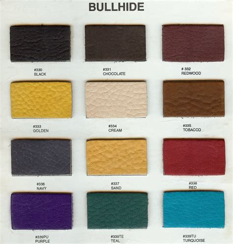 leather color armlann leather colors