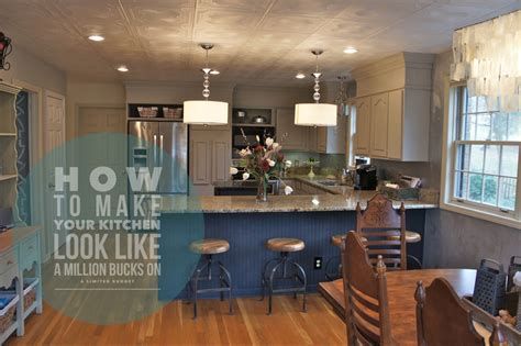 How To Make Your Kitchen Look Like A Million Bucks On A