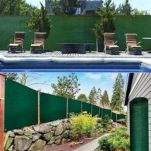 Brise Vue 220 G M2 : brise vue renforc 1 2 x 10 m vert 220 gr m luxe pro ~ Edinachiropracticcenter.com Idées de Décoration