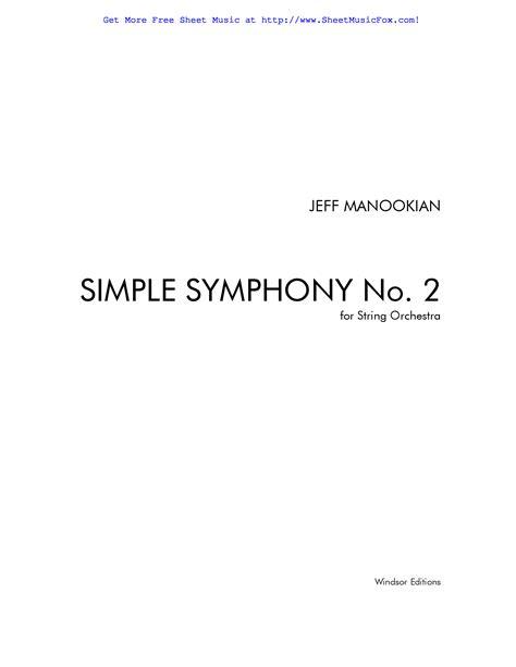 baixar de symphony simple britten pdf