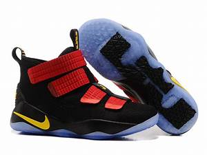 2017 Nike LeBron Soldier 11 Black/Red-Gold For Sale – Hoop ...