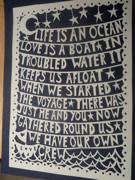 Banks Bedroom Wall Lyrics Meaning by This Custom Papercut Soul Food