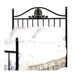 buy coronet wrought iron headboard size metal finish satin black