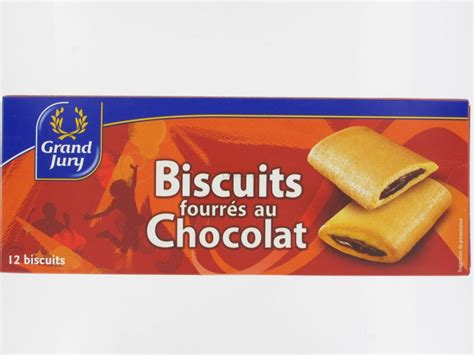 cuisine vannes biscuits fourrés au chocolat grand jury 12 biscuits 225