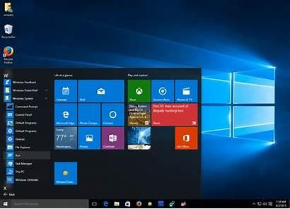 Windows Start Menu Rtm Run Apps Business