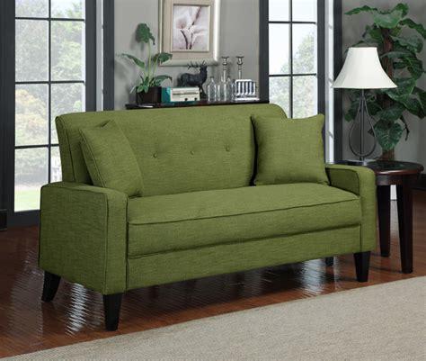 portfolio ellie apple green linen sofa