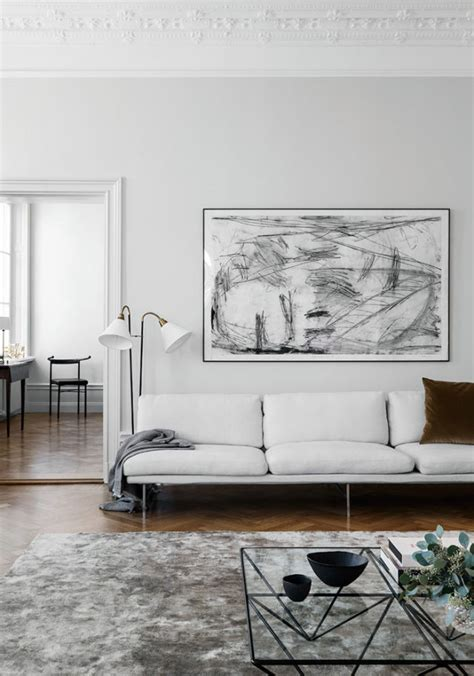 Swedish Minimalist Interior By Liljencrantz Design