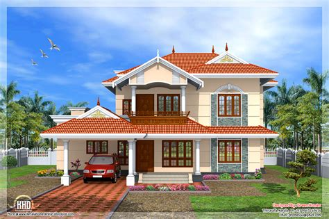 style homes plans kerala style 4 bedroom home design home design plans