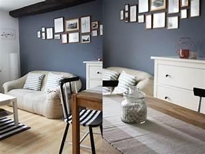 Grau Blau Wandfarbe : wohnzimmer blau grau streichen die neuesten innenarchitekturideen ~ Frokenaadalensverden.com Haus und Dekorationen