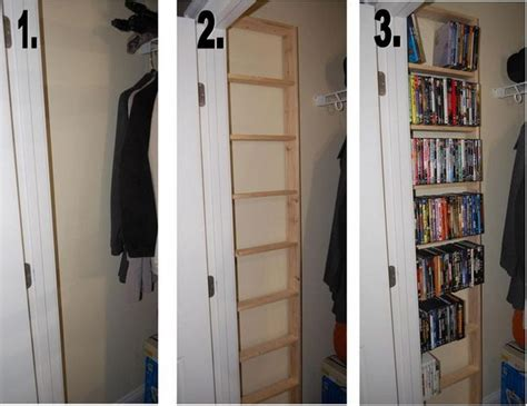 Dvd Closet Storage by Creative Diy Cd And Dvd Storage Ideas Or Solutions Hative