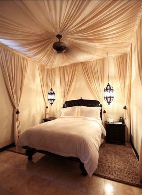 Draped Ceiling Bedroom by Draped Ceiling Walls Bedroom Design In 2019