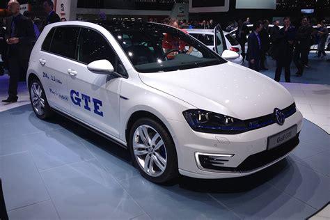 Hybrid Volkswagen Golf Gte Revealed