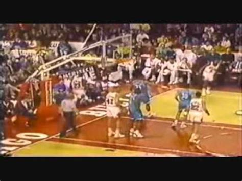 Michael Jordan 52 Points Vs Charlotte Hornets And