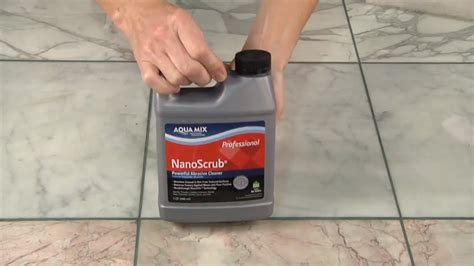 removing grout residue from tile surface remove grout from polished marble with aqua mix