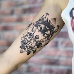 Tattoos Mit Bedeutung Für Frauen : wolf tattoo bedeutung und symbolik ~ Frokenaadalensverden.com Haus und Dekorationen