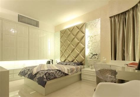 modern bedroom walls and curtains design pictures 3d