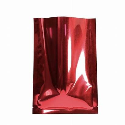 Bags Foil Cm Inches Open Flat Metallic