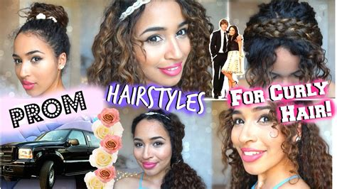 Hairstyles For Curly Hair by Prom Formal Hairstyles For Curly Hair