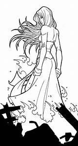 Jean Grey X3 Jamiefayx Deviantart Rogue Coloring Phoenix Comics Dark Prints sketch template