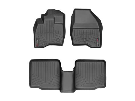 weathertech floor mats explorer weathertech floor mats floorliner for ford explorer 2017 black ebay