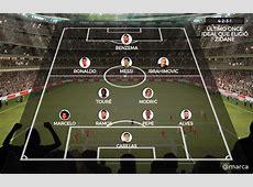 Los seis madridistas que Zidane eligió en su once ideal