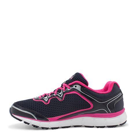 Ladies Fila Memory Fresh Start Sneakers Pink/Navy   Boscov's