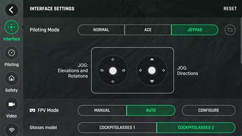 parrot bebop  power settings overview youtube