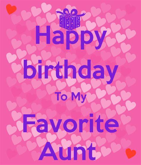 favorite aunt birthday quotes