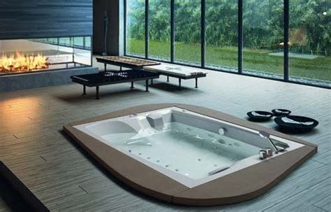 vasche da bagno rotonde vasche da bagno panoramica su tipi e materiali