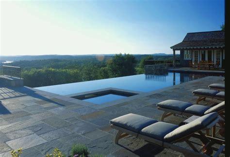 infinity edge pool farmhouse pool  york