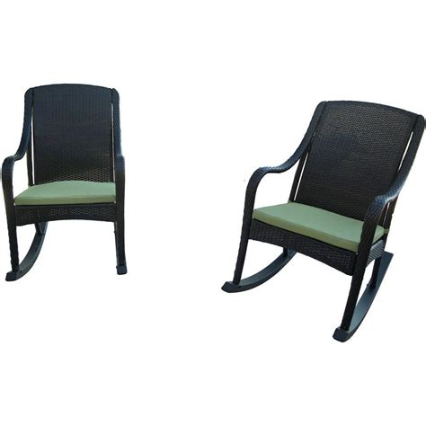 hanover orleans 4 rocking patio chair set with