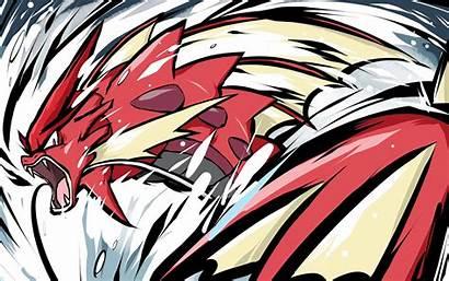 Mega Gyarados Shiny Pokemon Backgrounds Wallpapers Ishmam